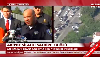 kaliforniya - ABD'de silahlı saldırı: 14 ölü