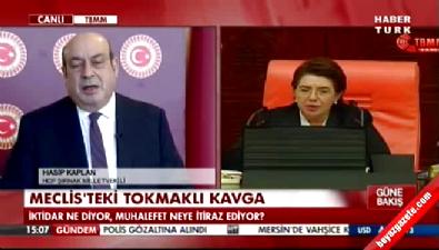 HDP'li Hasip Kaplan: Meclis'in tokmağı kanlı