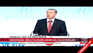 Cumhurbaşkanı Erdoğan'ın ASELSAN merkezi açılış konuşması