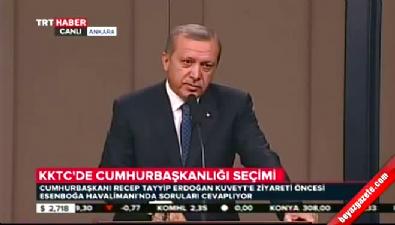 Cumhurbaşkanı Erdoğan, Mustafa Akıncı'nın o sözlerini değerlendirdi