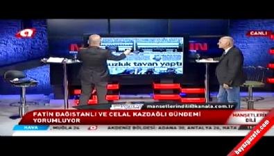 Fatin Dağıstanlı ve Celal Kazdağlı'nın canlı yayın tartışması