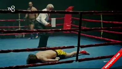 hazal kaya - Maral'da nefes kesen kick box sahnesi