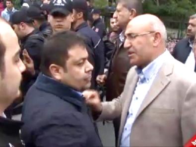mahmut tanal - CHP Milletvekili Adayı, Çıkan Arbedede Yere Düştü