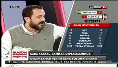 belediyespor - Beşiktaş'ın golü ofsayt sayılınca BJK TV