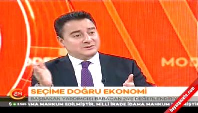 Ali Babacan, seçimlerin ekonomiye etkisi hakkında konuştu