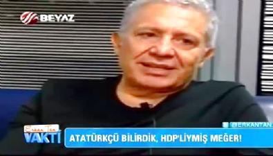 Atatürkçü Zülfü Livaneli, HDP'ye oy istedi