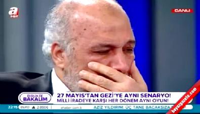 Latif Erdoğan gözyaşına boğuldu