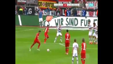 bayern munih - Neuer ilk frikik golünü Hakan Çalhanoğlu'ndan yedi