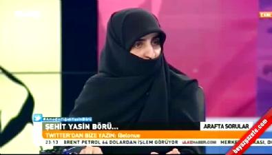 Hatice Börü'den Cüneyt Özdemir'e IŞİD tepkisi