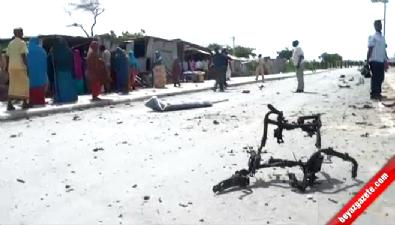 Büyükelçiliğe bombalı saldırı kamerada