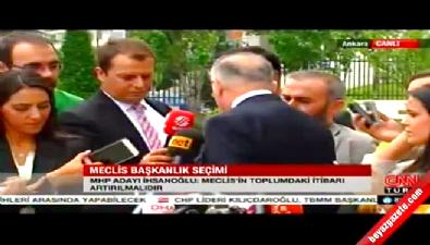 Ekmeleddin İhsanoğlu HDP sorusuna yanıt vermedi