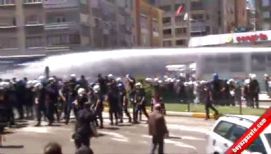 Erzurum'da olaylar çıktı