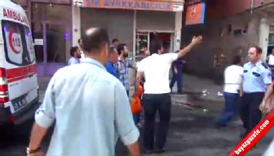 Diyarbakır'da trafik kazası ihbarına gönderilen polise pusu