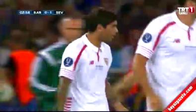 Barcelona: 0 Sevilla: 1 (Gol: Banega) UEFA Süper Kupa finali
