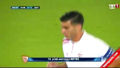 Barcelona: 4 Sevilla: 2 (Gol: Reyes) UEFA Süper Kupa finali