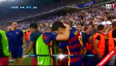 Barcelona: 5 Sevilla: 4 (Gol: Pedro) UEFA Süper Kupa finali
