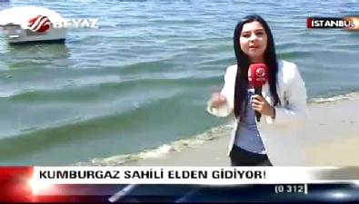 Kumburgaz sahili elden gidiyor. CHP'li belediye uyuyor