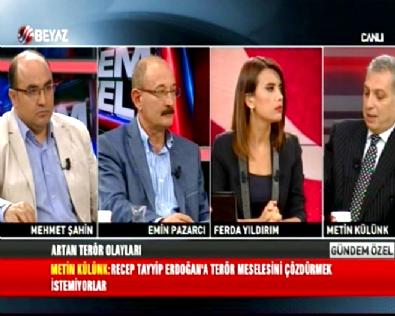 mehmet sahin - Ferda Yıldırım ile Gündem Özel 10.09.2015 Stüdyo Konuğu: Metin Külünk, Emin Pazarcı ve Mehmet Şahin