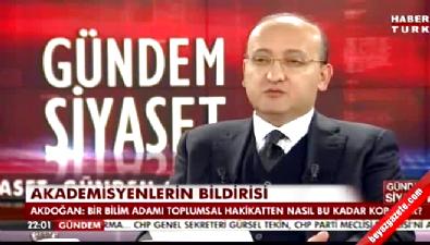 Yalçın Akdoğan: İnsanın kanı donuyor