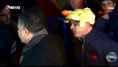 Eskişehirspor Başkanı taraftarla tartıştı