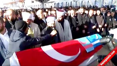 ahmet mahmut unlu - MHP'li şehidin cenaze namazını Cübbeli Ahmet Hoca kıldırdı