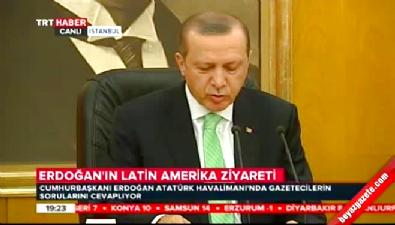 Rus uçağının sınır ihlaline Erdoğan'dan sert tepki