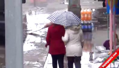 Kars'ta Ocak yağmuru