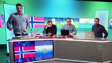 Norveç, San Marino'dan gol yiyince...