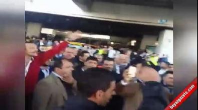 Sabiha Gökçen Havalimanı'nda taksiciler terör estirdi