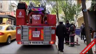 Cihangir'de ünlü tiyatro oyuncusunun evi yandı