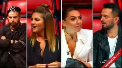 hadise acikgoz - O Ses Türkiye jürisi erkek yarışmacıyı kadın sandı