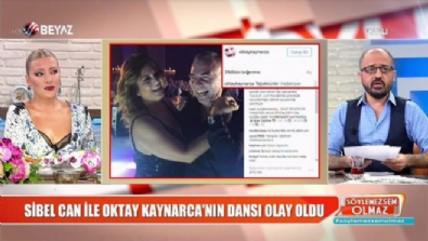 Sibel Can'la Oktay Kaynarca'nın dans pozu dedikodulara neden oldu