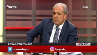 Şamil Tayyar, Rüzgar Çetin'in tahliyesini değerlendirdi