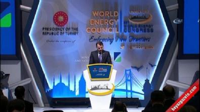 Enerji Bakanı Albayrak: 'Enerji, çatışmanın değil barışın kaynağı olabilir'