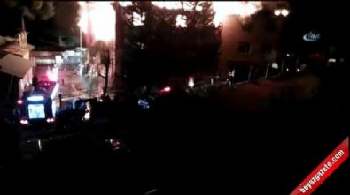Adana'da öğrenci yurdunda yangın: 13 yaralı
