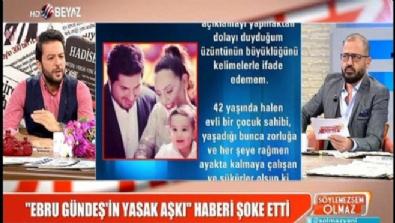 Ebru Gündeş'ten 'Yasak Aşk' iddiasına jet yalanlama