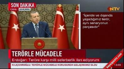 Cumhurbaşkanı Erdoğan: Bu akşam Putin'le bir görüşme yapacağım