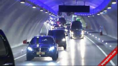 avrasya tuneli - Avrasya Tüneli'nden ilk geçişi Cumhurbaşkanı Erdoğan yaptı