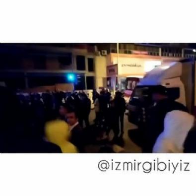 İzmir Çiğli'de vatandaş yolu kapattı