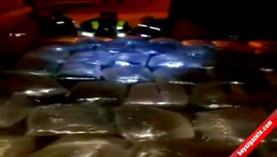 Adana'da 345 kilogram esrar ele geçirildi