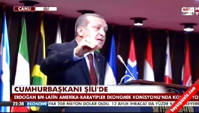 Erdoğan: Amerika PYD'ye silah yardımı yapıyor