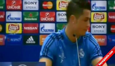 Ronaldo toplantıyı terk etti