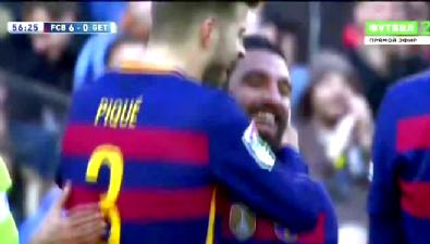barcelona - Arda'dan jeneriklik gol