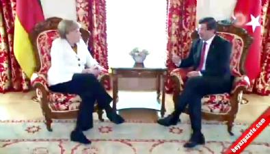 Başbakan Davutoğlu, Almanya Başbakanı Merkel ile telefonda görüştü