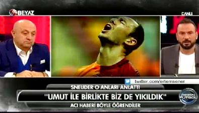umut bulut - Sneijder: Umut Bulut ile birlikte biz de yıkıldık