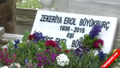 erol buyukburc - Erol Büyükburç mezarı başında ilahilerle anıldı