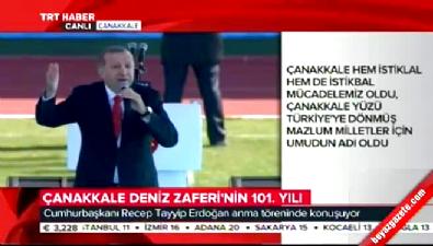 Cumhurbaşkanı Erdoğan: Benim mehmetçiğimin karşısına dikilenler kim?