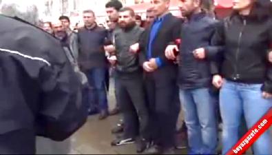 Polis müdüründen HDP'li gruba ayar