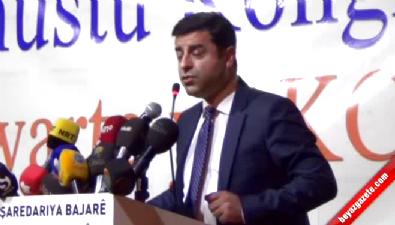 Demirtaş'ın DTK Olağanüstü Kongre konuşması
