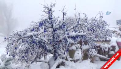 kapadokya - Kapadokya'ya Mart Ayında Kar Sürprizi